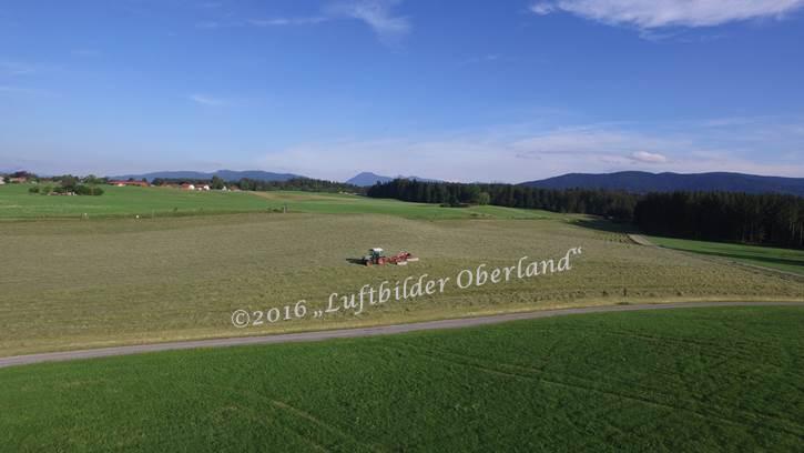 Blick auf Schaftlacher Feld